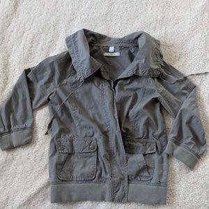 LOFT Gray Lightweight Jacket